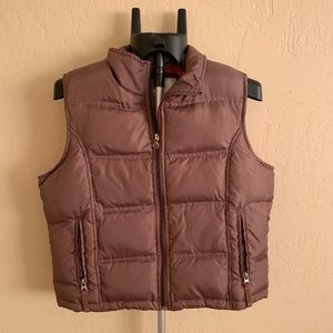 Motion - brown Puffy vest